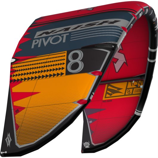 Naish 2020 Pivot 14 m² Grey/Orange/Red