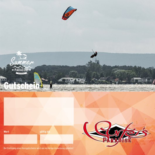 Gutschein Personaltraining Kitesurfen 1 Stunde PDF