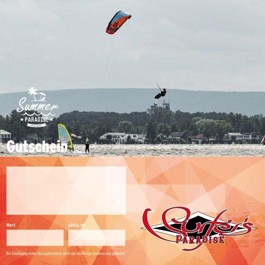 Gutschein Personaltraining Kitesurfen 3 Stunden PDF