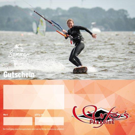 Gutschein Kitesurfkurs 4 Tage Special für Einsteiger oder Fortgeschrittene PDF