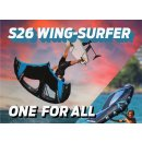 Naish S26 Wing-Surfer Complete 3,6 dark blue
