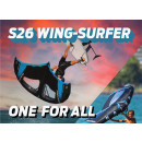 Naish S26 Wing-Surfer Complete 6,0 light blue